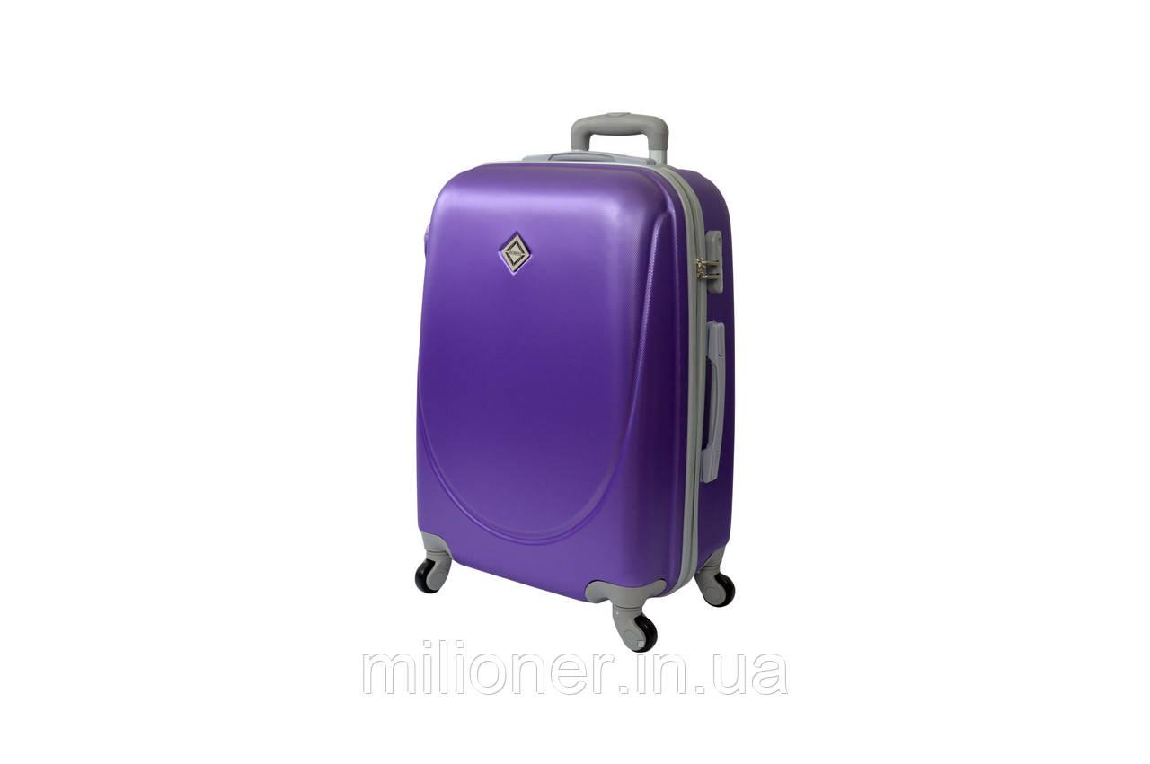 Чемодан ручная кладь Bonro Smile (мини) фиолетовый