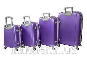 Чемодан ручная кладь Bonro Smile (мини) фиолетовый, фото 3