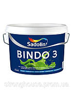 Краска глубокоматовая для потолка и стен BINDO 3  Sadolin ( Биндо 3 Садолин ) 10л.