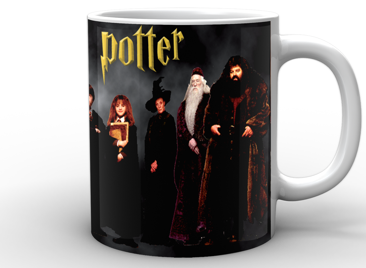 Кружка GeekLand Гарри Поттер Harry Potter ученики Хогвартса HP.02.012