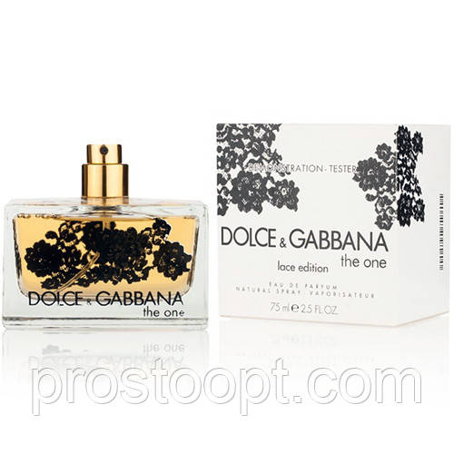 Dolce&Gabbana The One Lace Edition EDP 75 мл TESTER  женский