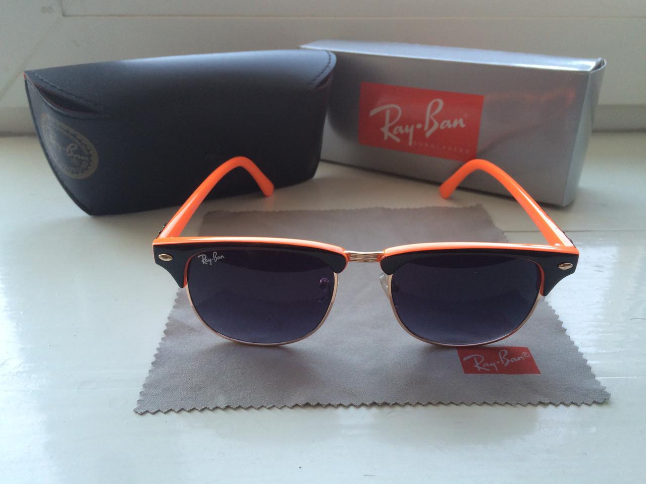 c82b2298997c Солнцезащитные очки Ray-Ban Clubmaster Фирменный комплект ! - Интернет- магазин Everyday в Кременчуге