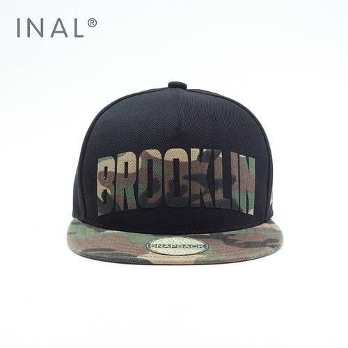 Кепка Снепбек, Brooklyn NYC, L / 57-58 RU, 80% Акрил 20% Шерсть, Хаки, Inal