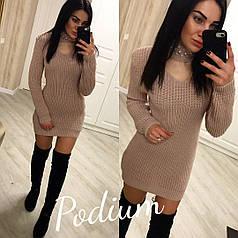Платье - туника с чокером тв-180408-1