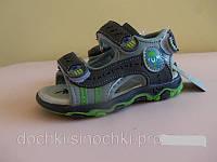 Босоножки сандалии на мальчика 22 размер. Детская летняя обувь. Обувь для мальчика