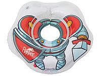 Круг для купания малышей Roxy-kids Flipper 3D рыцарь