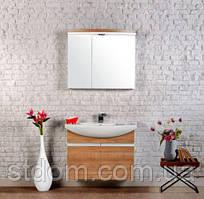 Зеркальный шкафчик Gold Ban-Yom Asia 85 белый