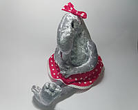 Мягкая игрушка ручной работы Ждун - Девочка с ножками, фото 1