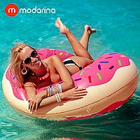 Modarina Надувной розовый круг Пончик 120 см