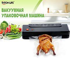 Упаковщик вакуумный (вакууматор) 150Вт / 220В TintonLife SX-100