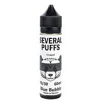 Жидкость для электронных сигарет Several Puffs 60 мл Blue Bubble, 0