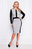 GLEM Меланж платье Анита-Б д/р, фото 1