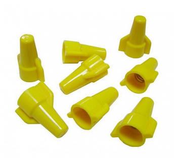 Колпачки для скрутки кабеля SP1 = 2*4 кв мм (желтые) (100шт), фото 2