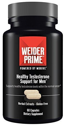 Weider Healthy Testosterone Support for Men 60 caps
