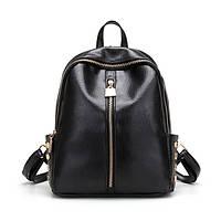 Товар с дефектом, Черный женский рюкзак
