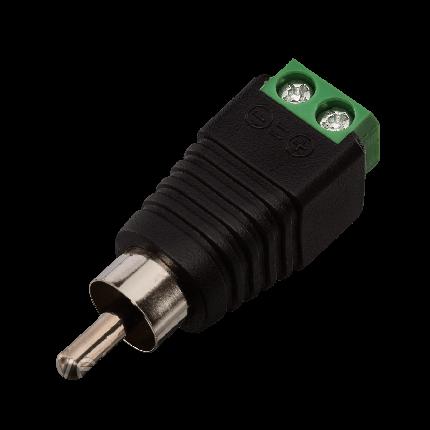 Коннектор GV RCA /M (male)  ФАС 3573 (1 уп = 10шт), фото 2