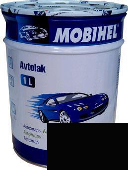 Автокраска 000 Чорная матовая Helios Mobihel алкидная 1л