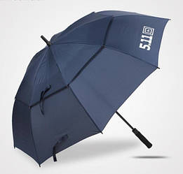 Зонт 5.11 двухкупольный-полуавтомат, трость