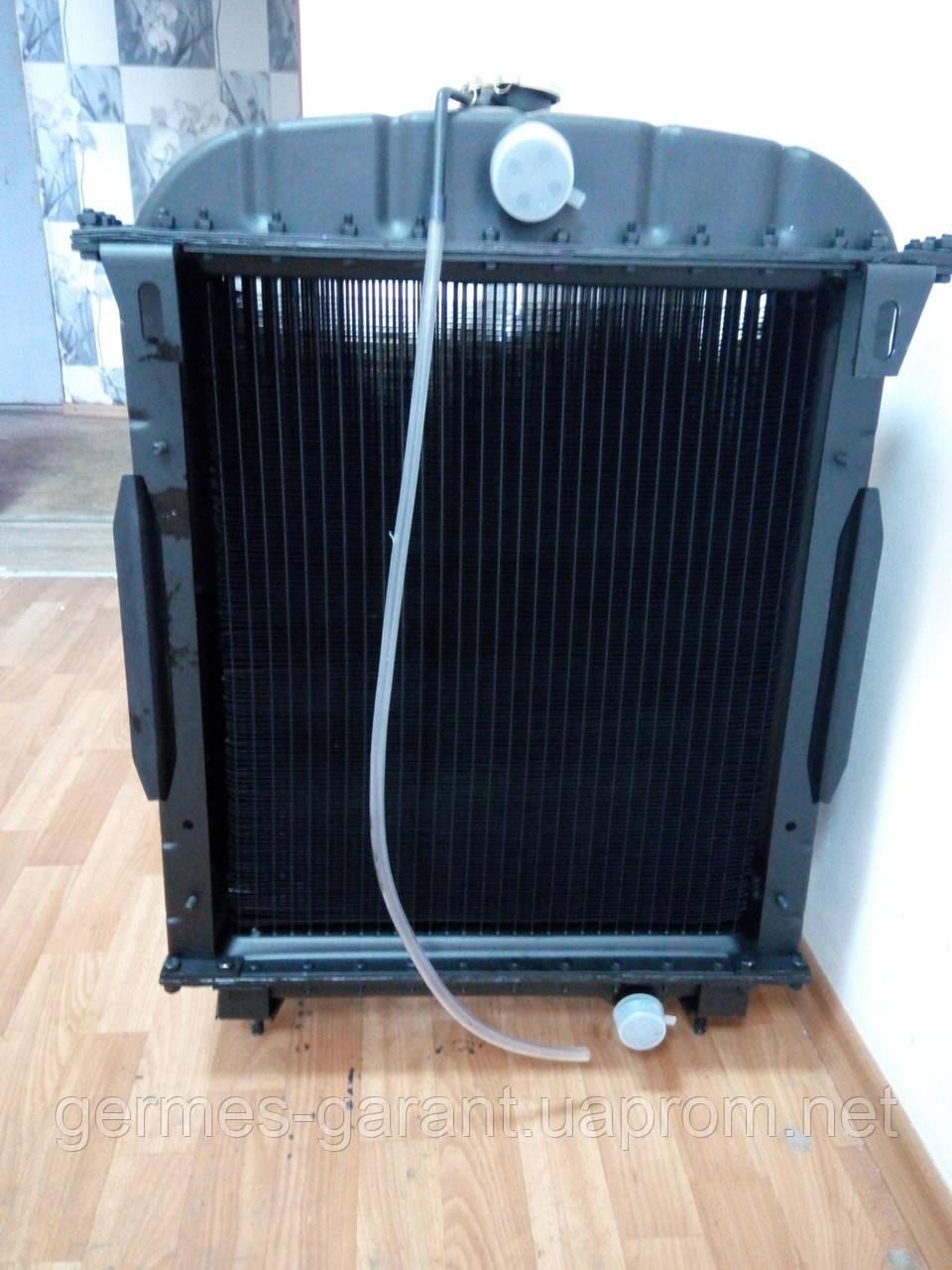 Радиатор  ЮМЗ с двигателем Д65 АЛЮМИНИЙ