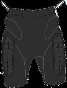 Защитные шорты DSRP-222 L (Destroyer)