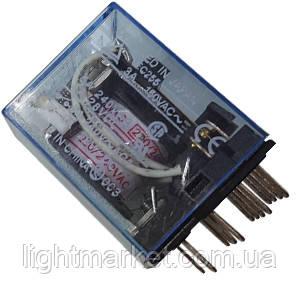 Реле промежуточное 110V 5A, фото 2