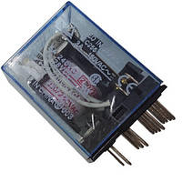 Реле промежуточное 24V 5A на 8 контактов