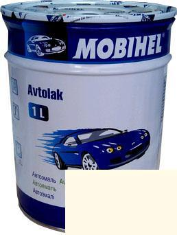 Автокраска 040 Белая тойота Helios Mobihel алкидная 1л