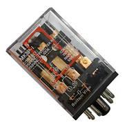 Реле промежуточное 220V 10A на 11 контактов