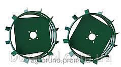 Грунтозацепы к мотоблоку (железные колёса) Ø 560/130 мм