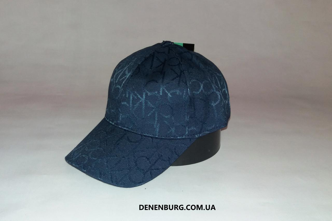 Бейсболка Мужская CALVIN KLEIN 2001-1 Синяя — в Категории