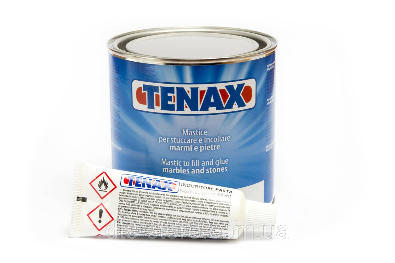Клей TENAX Solido Nero (черный) двухкомпонентный 750 мл