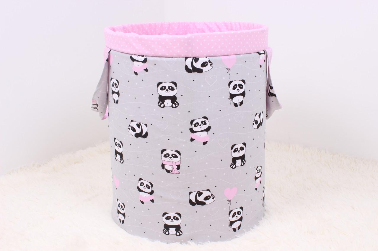 Корзина для игрушек панды