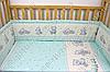 """Детское постельное белье в кроватку """"Карапуз"""" комплект 6 ед. (мишка игрушки салатовый), фото 2"""