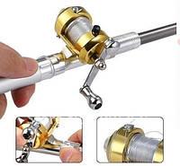 Телескопическая мини удочка fishing pen