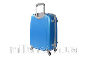 Чемодан ручная кладь Bonro Smile (мини) голубой, фото 2