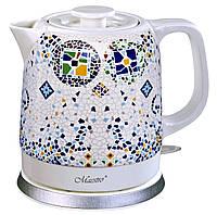Электрический керамический чайник Maestro MR-068/1 1500 ml / 1200 Вт
