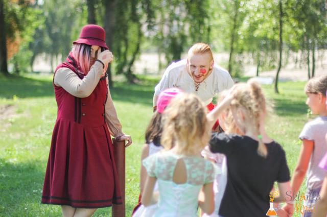 фото костюмированный квест для детей в Киеве