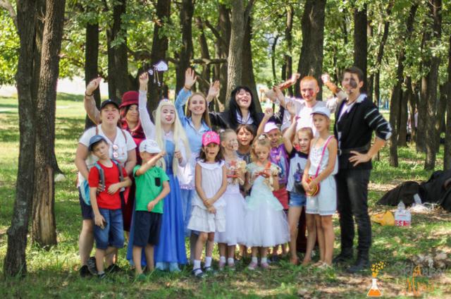 Фото костюмированный детский квест в Киеве
