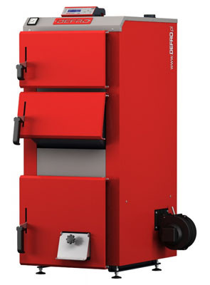 Tвердотопливный котел Defro Econo Plus 25