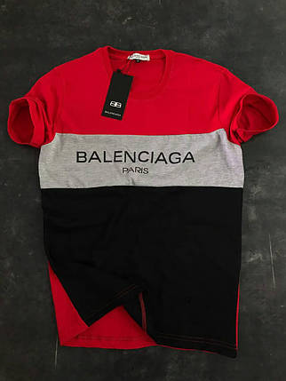 Мужская футболка Balenciaga Paris, фото 2