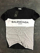 Мужская футболка Balenciaga Paris, фото 3