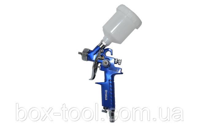 Пистолет покрасочный пневматический HVLP мини Htools 80K101, фото 2