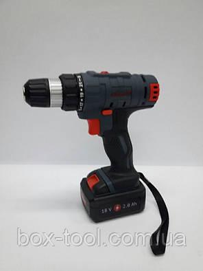 Шуруповерт аккумуляторный Craft CAS-18 SL, фото 2