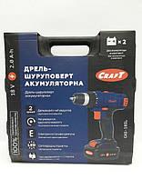 Шуруповерт аккумуляторный Craft CAS-18 SL, фото 3