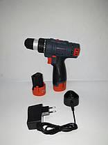 Аккумуляторный шуруповерт CRAFT CAS - 12 SL, фото 2