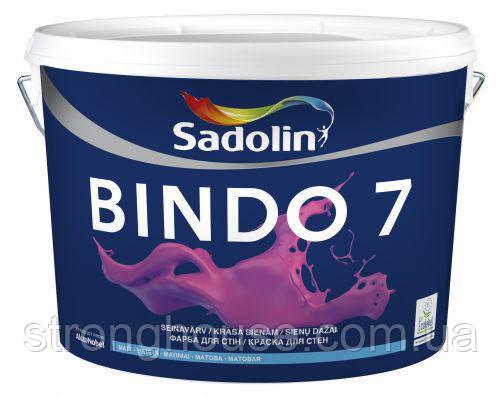 Краска BINDO 7 PROF Sadolin ( Биндо 7 Профи Садолин ) 20л.