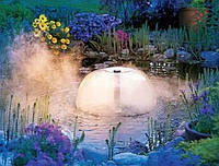 Украшение для пруда  с туманообразователем  и светодиодной подсветкой., фото 1
