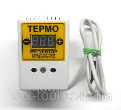 Цифровий Терморегулятор для інкубатора ЦТРи-1 (розетка або шнур), фото 2