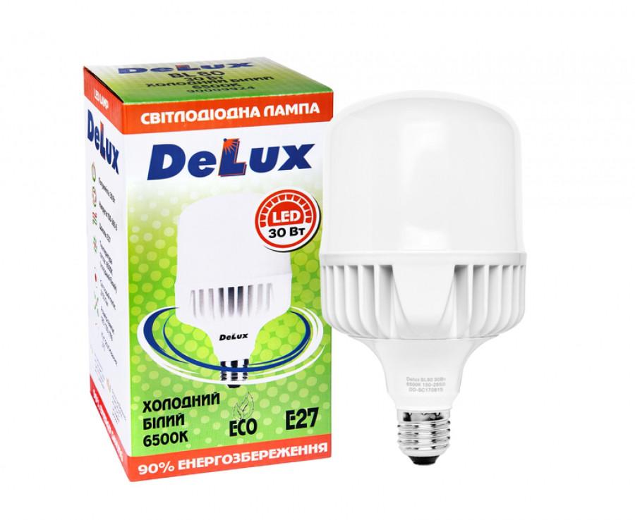 Лампа светодиодная DELUX BL 80 30w E27 6500K R высокомощная