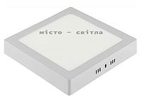 Светильник светодиодный LED Arina-28 накладной 6400K квадрат